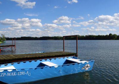 Jezioro Zamkowe.